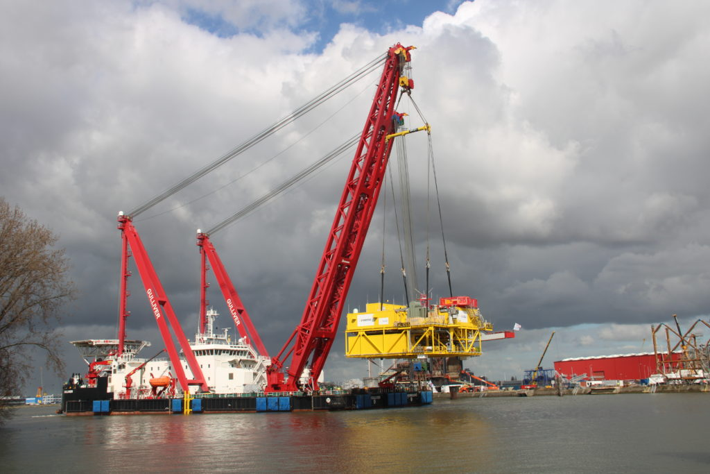 Gulliver and Innovation Lift 1,200t – Heavy Lift News