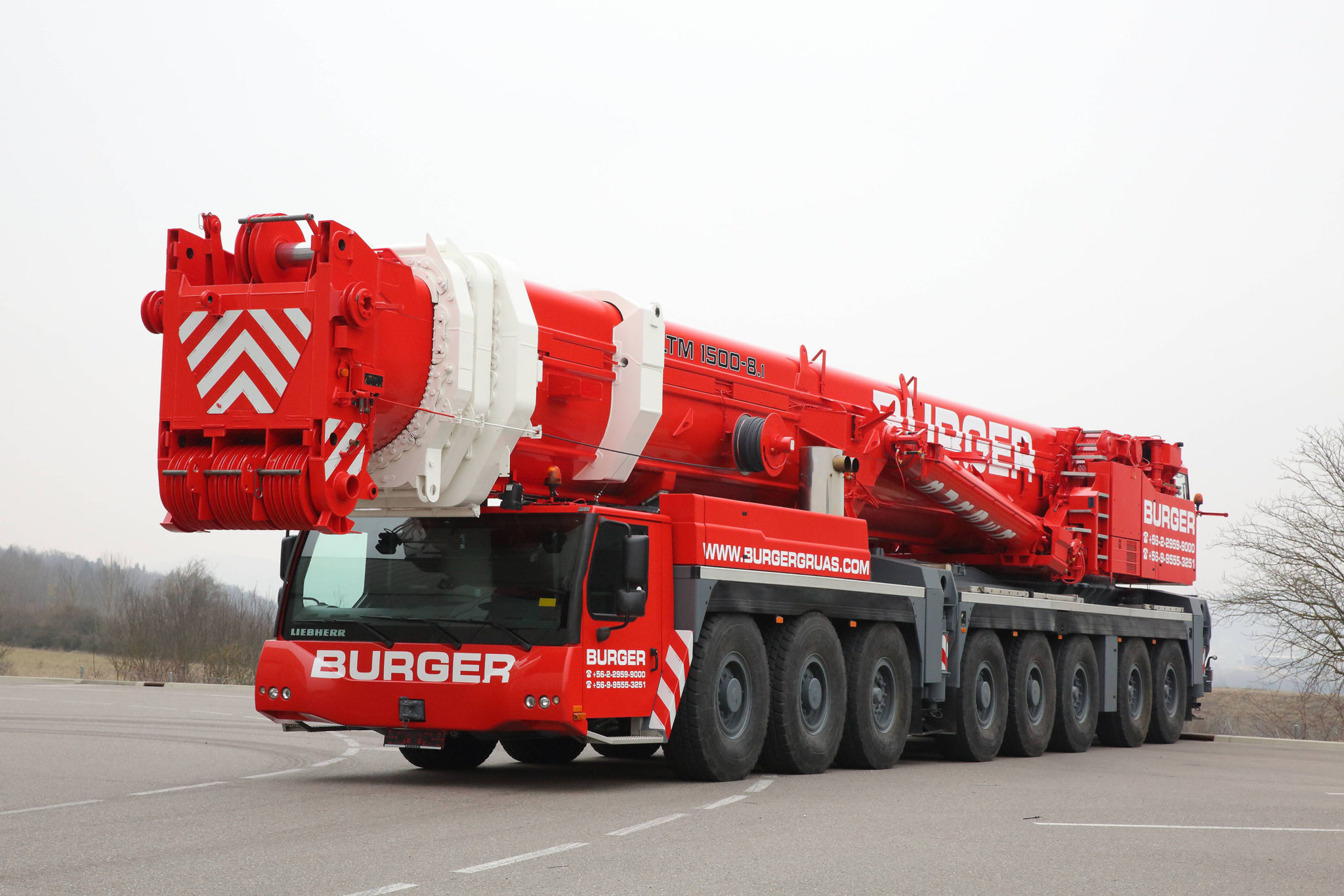 Burger Decides on Used Large Cranes from Liebherr – Heavy