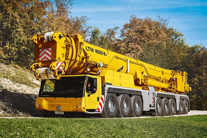 Debut for Liebherr LTM 1650-8 1 at Bauma 2019 – Heavy Lift News