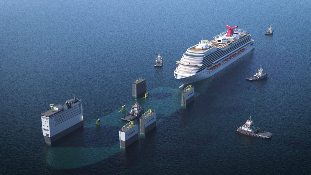 Video Boka Vanguard Loading Carnival Vista Heavy Lift News