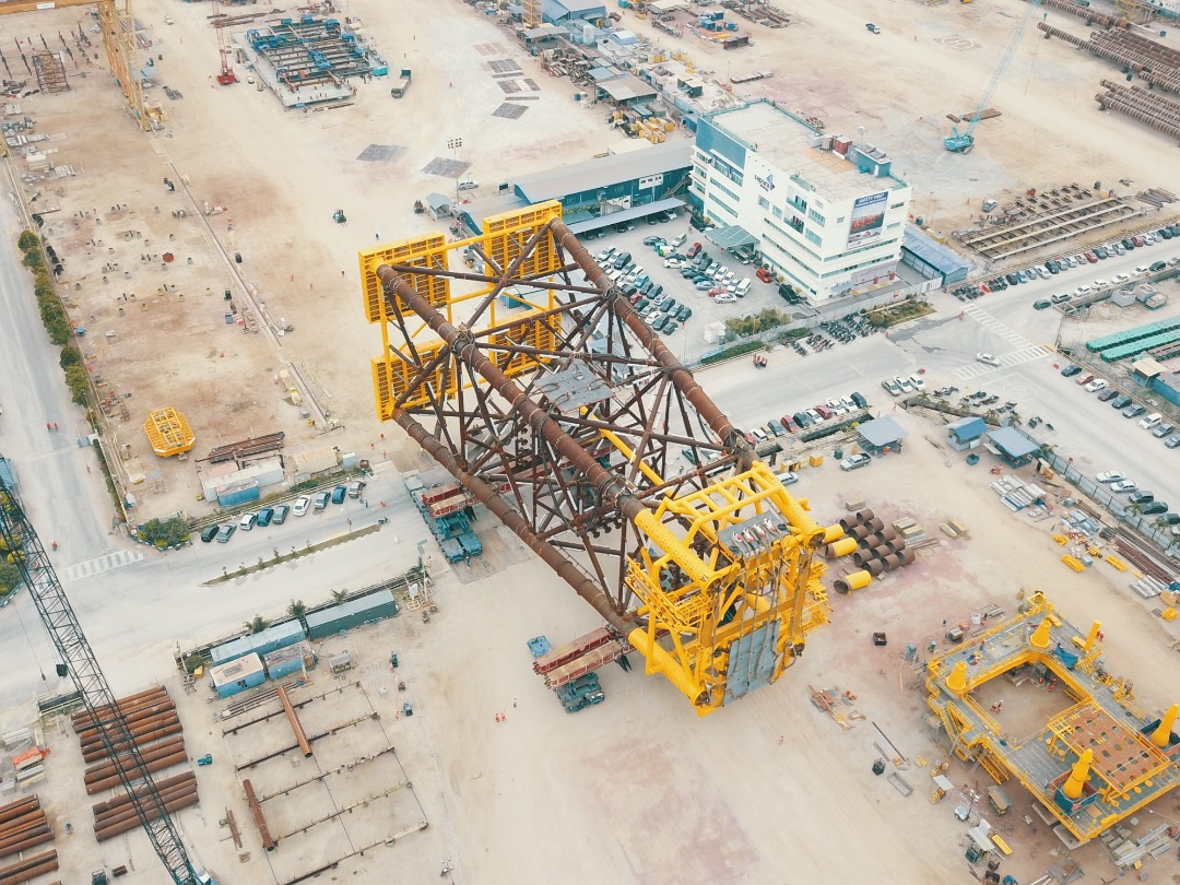 Weighing And Load Out By Sarens In Malaysia Heavy Lift News