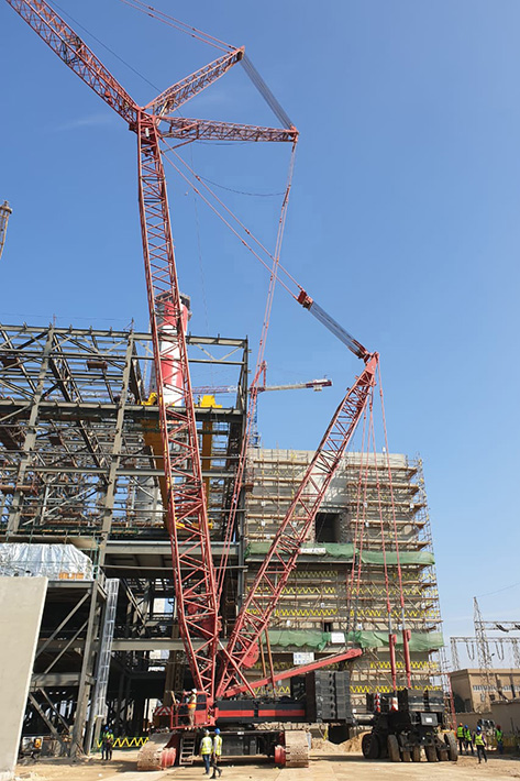 Specialized Contracting Company Cranes Buys Pre Owned Lr 1400 2 From Liebherr Heavy Lift News